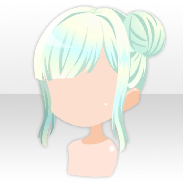 Midnight Witches Anime Hair Chibi Hair Kawaii Hairstyles