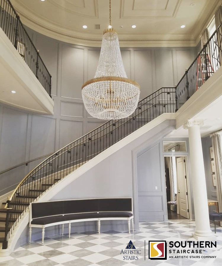 Curved Stairs Southern Staircase Artistic Stairs Staircase Design Stairs Design New Orleans Decor