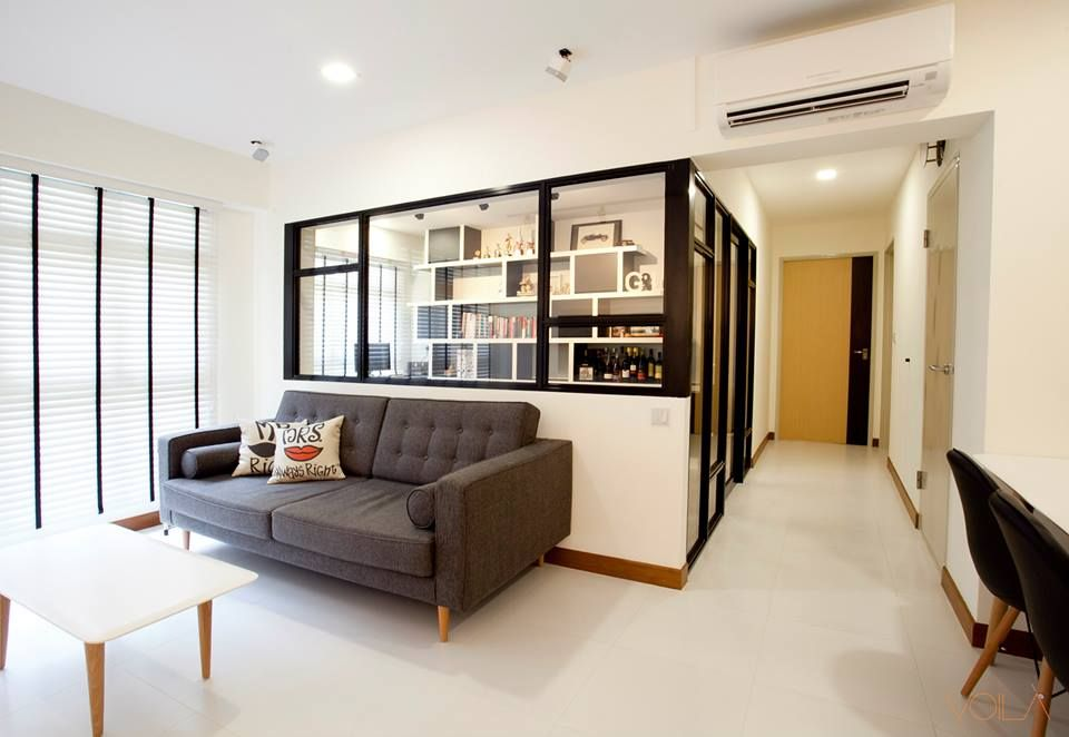 Hdb Scandinavian Modern Victorian Blk 326 Anchorvale Living Room Scandinavian Interior Design Farmhouse Decor Living Room