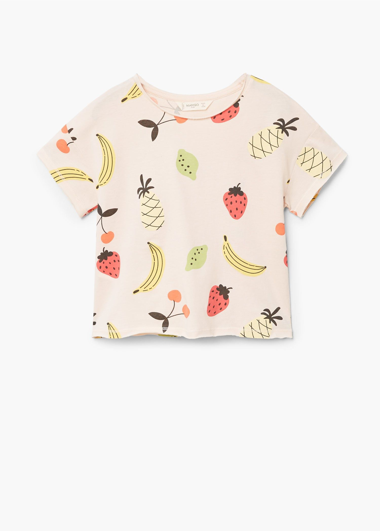 1 Set Baby Toddler Boys Short Sleeve Clothes Tee+Short Pants Fruit Print Outfits