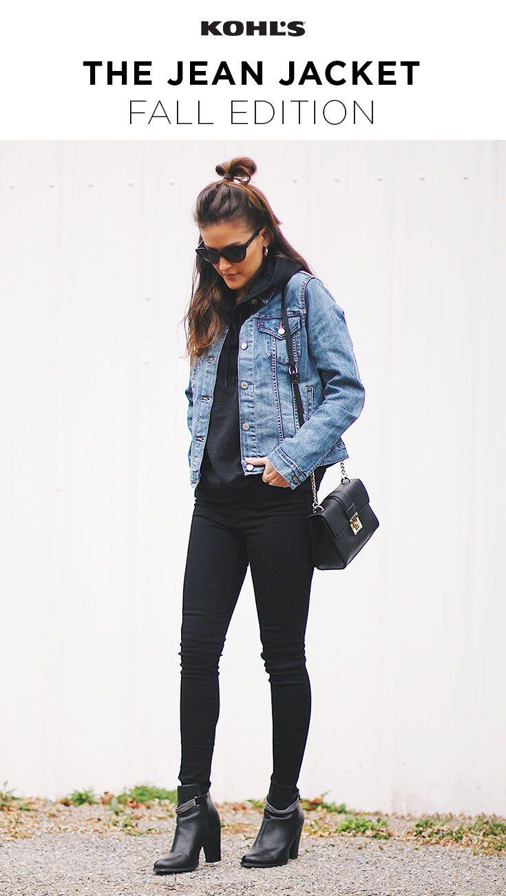 Women S Levi S Original Trucker Denim Jacket In 2020 Jacket Outfit Women Jean Jacket Outfits Fall Jackets Outfit