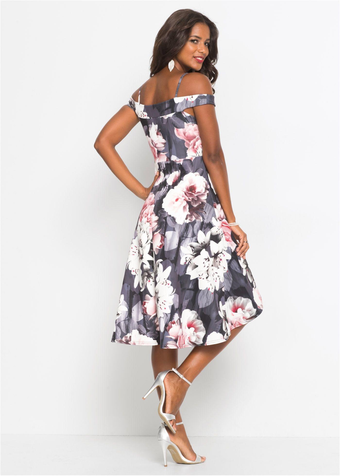 1db4c9b71774 Beställ Blommönstrad klänning svart/grå/rosa nu från 399.- kr i online