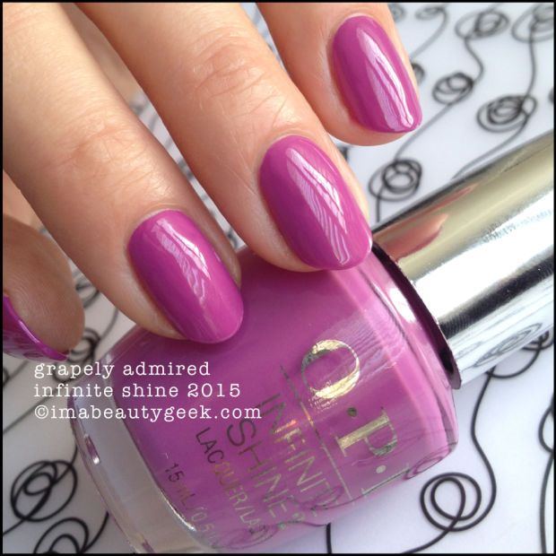 OPI Infinite Shine Grapely Admired. Lots of OPI Infinite Shine ...