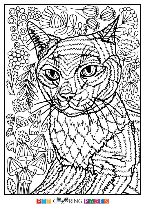 Free printable British Blue coloring page \