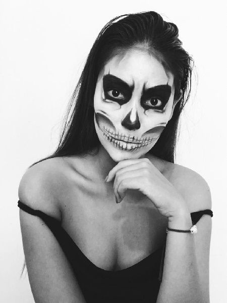 What is the best makeup for Halloween The Best Ideas Halloween Makeup - Makeup for now
