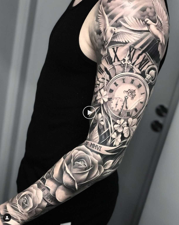 Tattoos Discover 40 Superbes Manches Longues Pour Hommes 2019 Tattooblend Mangas Tatuajes Tatuajes Brazo Hombres Tatuajes