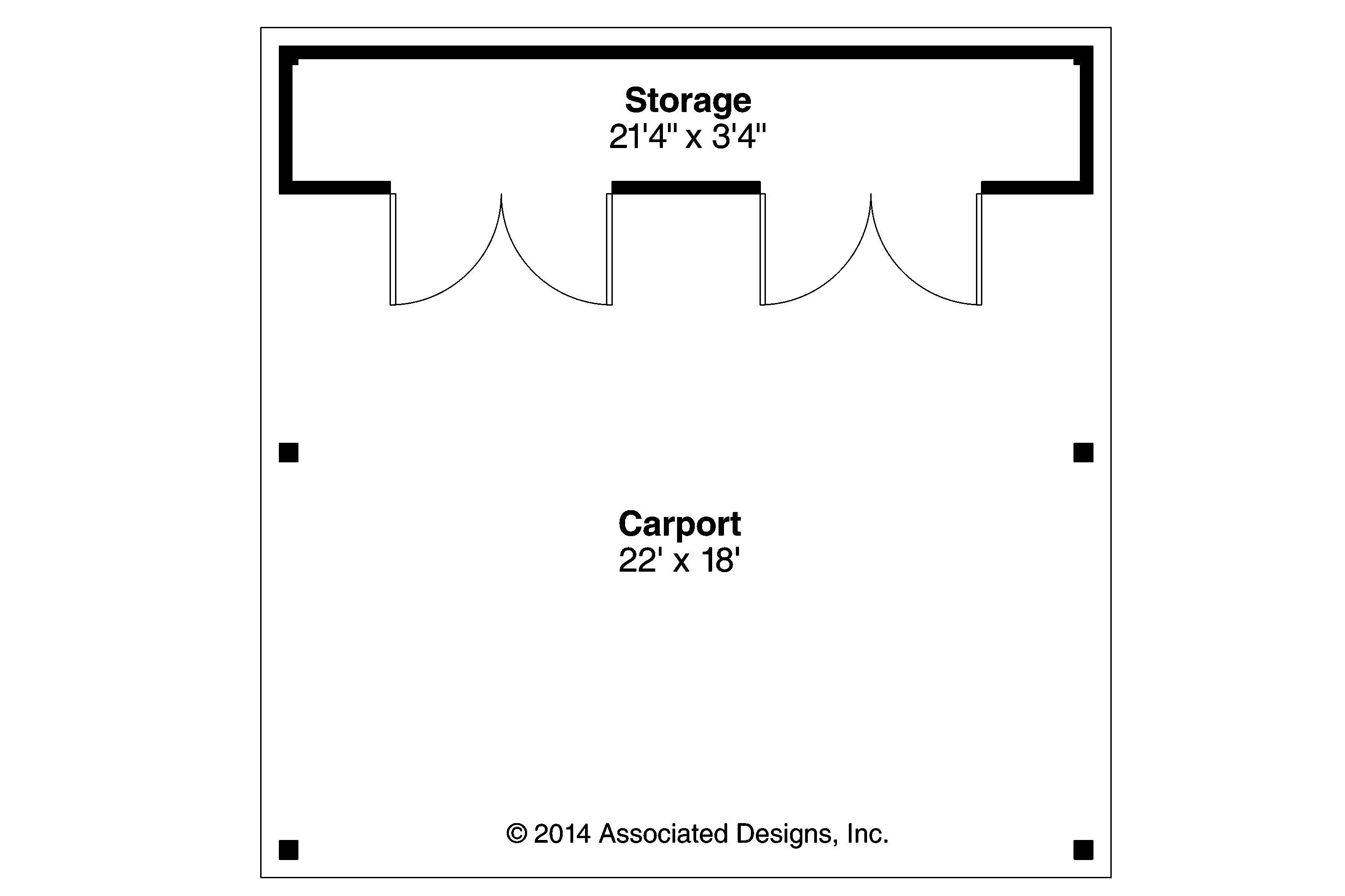 Carport Plan 20 094