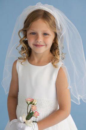 Little Bride Girls First Communion Dresses Flower Girl Dresses