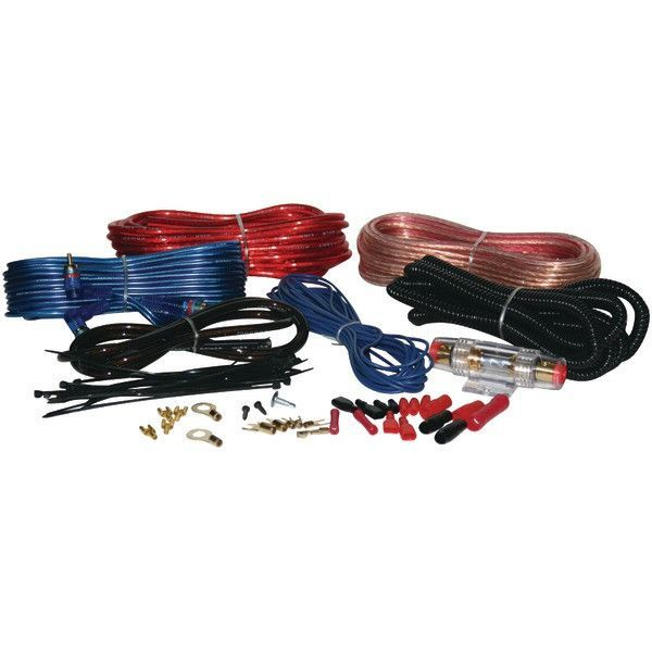 Pyle PLAM14 8-Gauge 1,000-Watt Amp Installation Kit