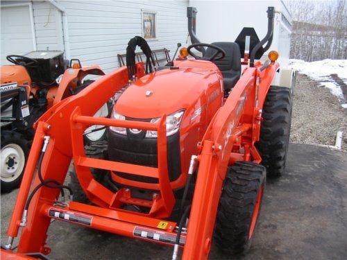 Kubota L3800 HST | Tractors | Kubota, Kubota tractors, Tractors