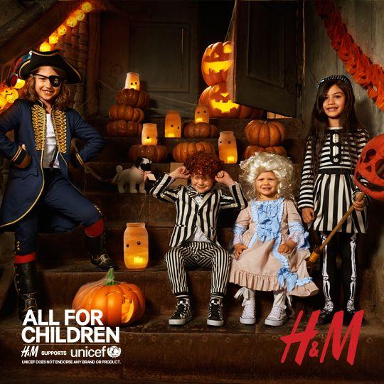HM All For Children Kollektion - 25 des Verkaufspreises wird an - halloween decoration rentals