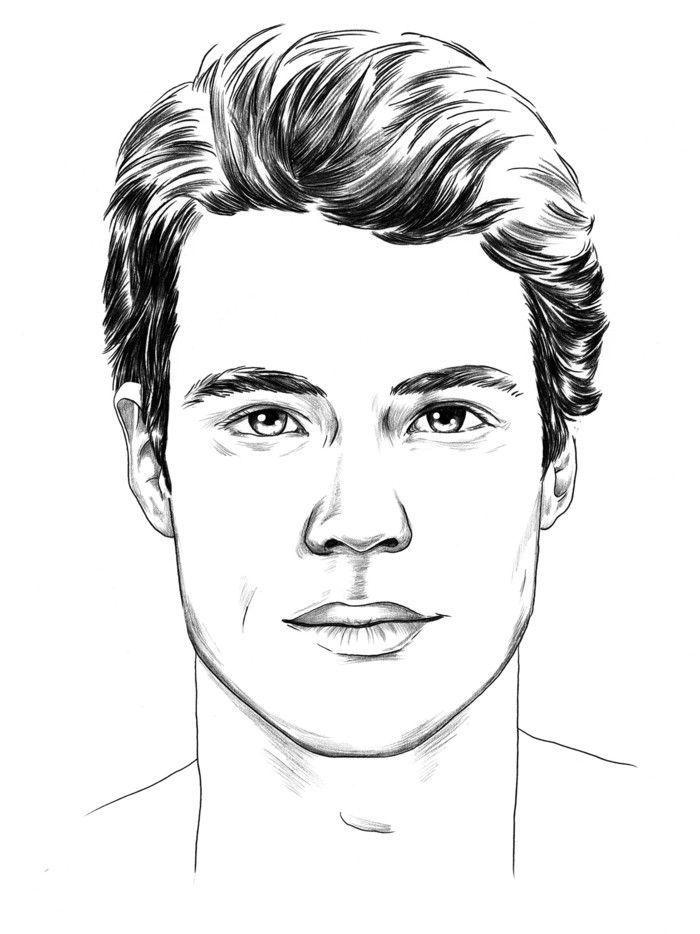 Gesichtsformen Und Frisuren Manner Frisuren Frisurenmanner Gesichtsformen Manner Frisur Frisuren Zeichnen Manner Frisuren Frisuren Manner Rundes Gesicht