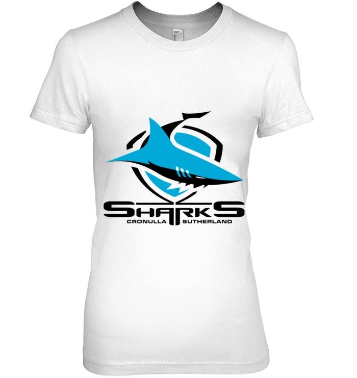 Cronulla Sharks Nrl Team Logo Pet Tank Cat Or Dog Pet Tank Mens Tops Mens Tshirts