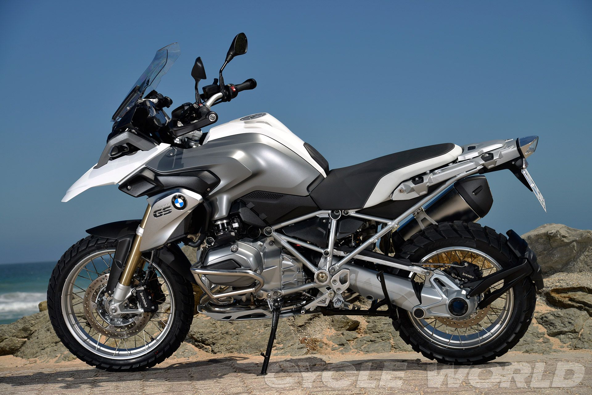 2013 Bmw R1200gs First Ride Review Photos Specs Bmw Adventure Bike Bmw Bmw Motorrad