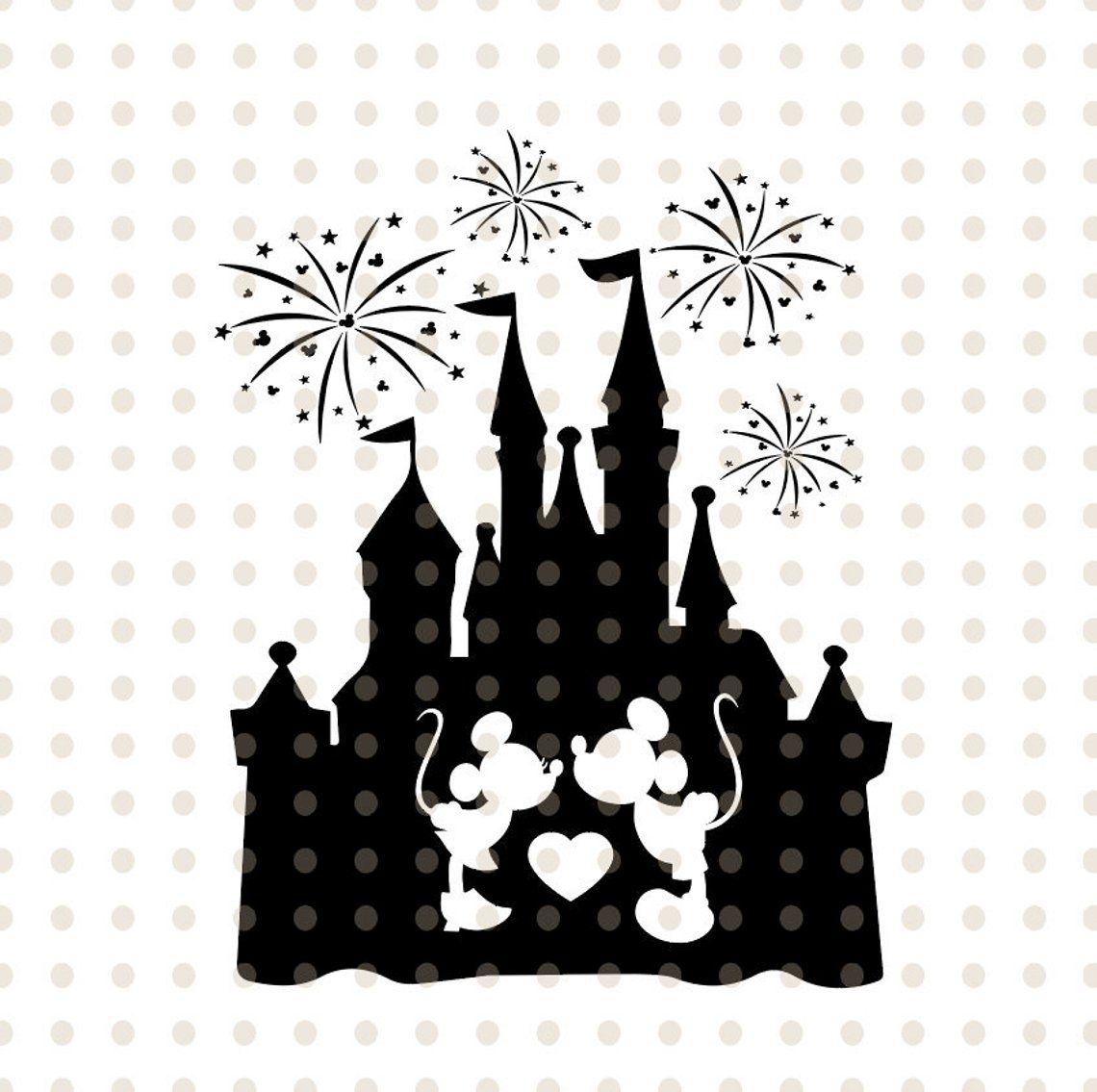 image 10  Disney castle silhouette, Disney castle, Disney tattoos