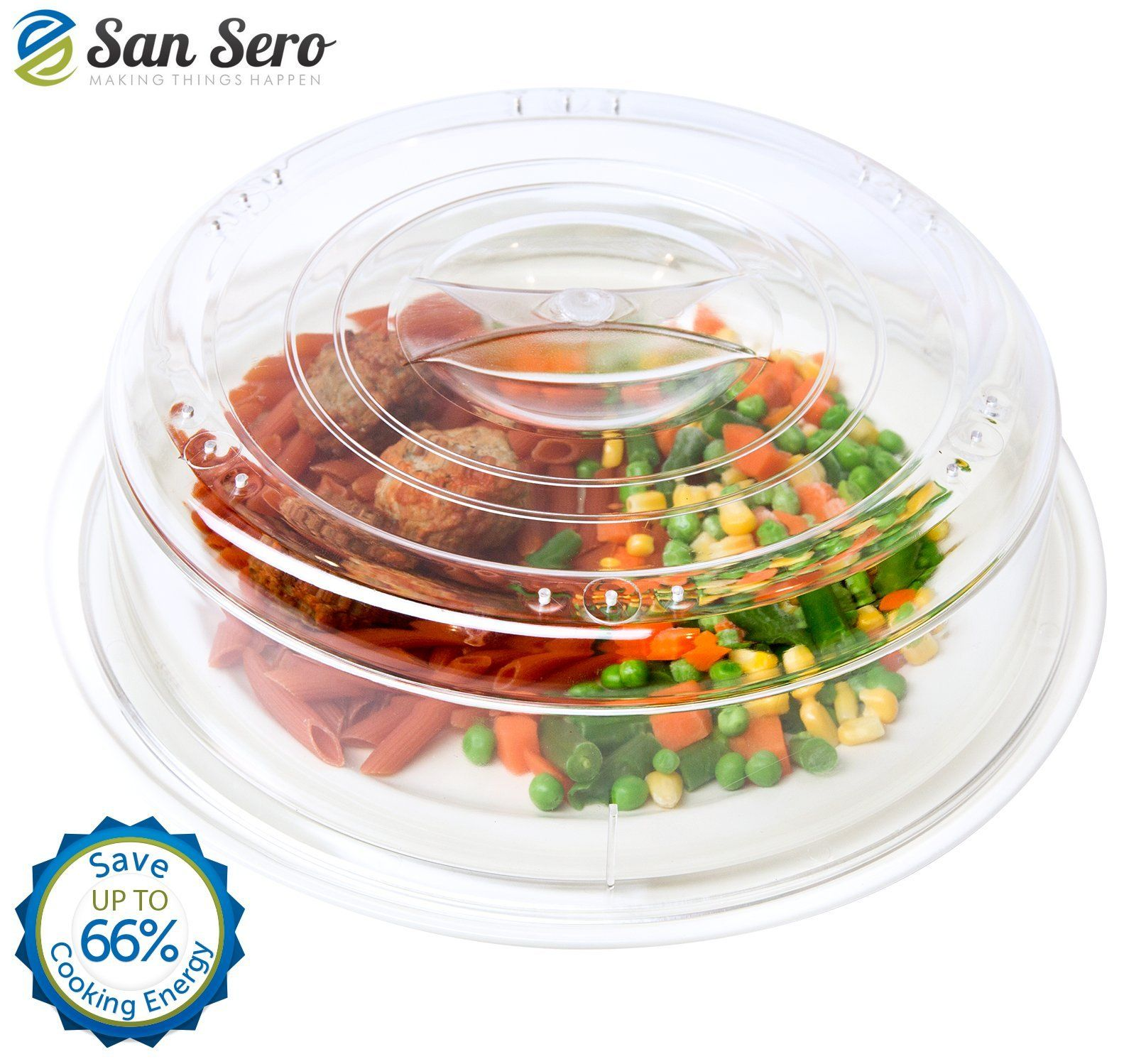 Best Microwave Cover Saves 66 Energy Perfect Splatter Guard Cooks Your Food Quicker Cookware Lids Kitchen Dining