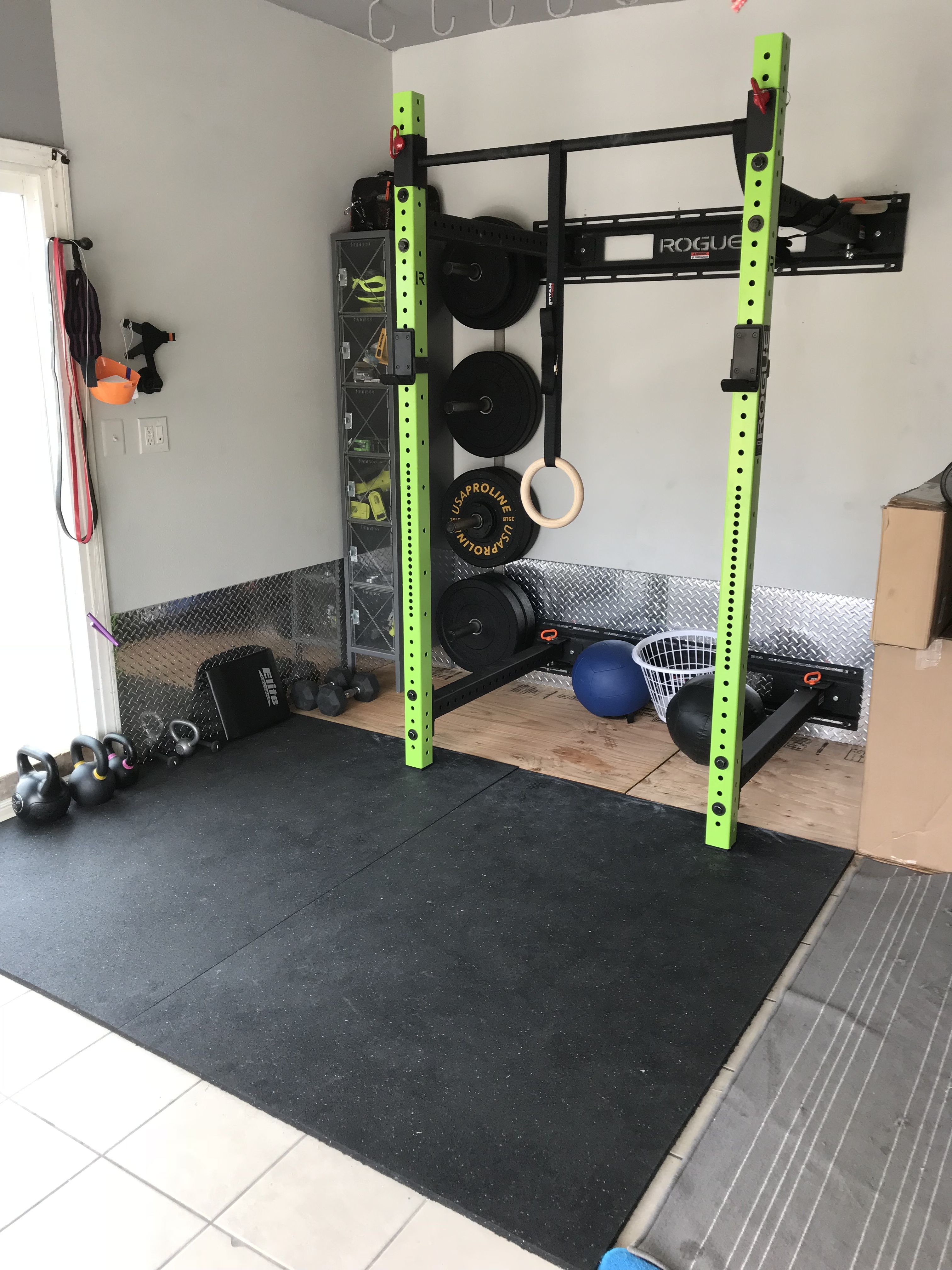 Rogue home gym monroy gym in 2019 at home gym backyard gym