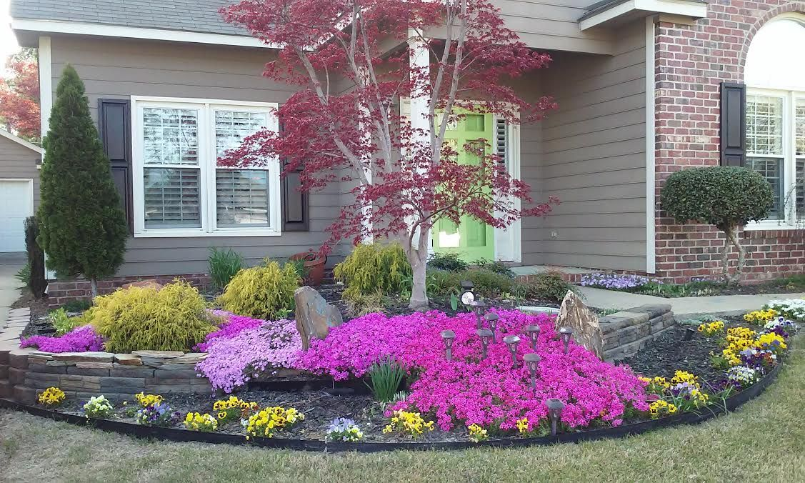 Design Done By John Bowles Of New Leaf Landscape Designs In