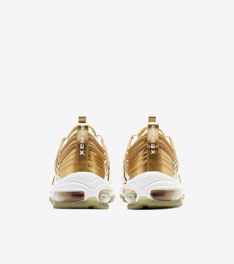 air max 97 gold bambino