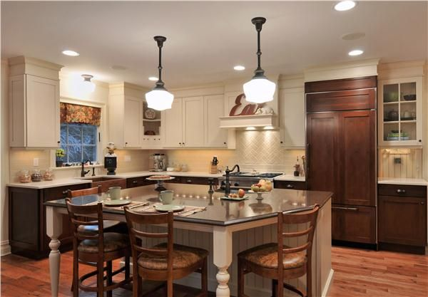 Country/Rustic (Country) Kitchen by Taine D\u0027Agostino, CKD, ASID