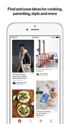 Download Pinterest IPA For iOS