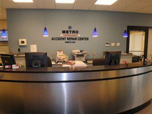 auto body shop office images Metro Accident Repair Center Auto