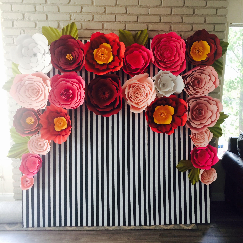 Instagram craftymakize kate spade inspired paper flower