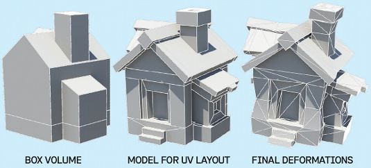 How To Make Low Poly Buildings For Games 3d Max Low Poly