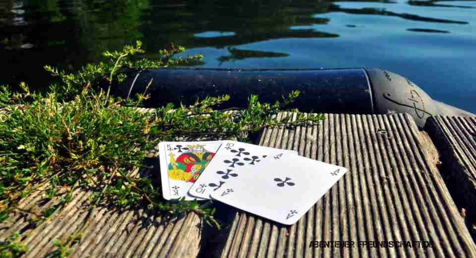 Schwimmen Kartenspiel Anleitung