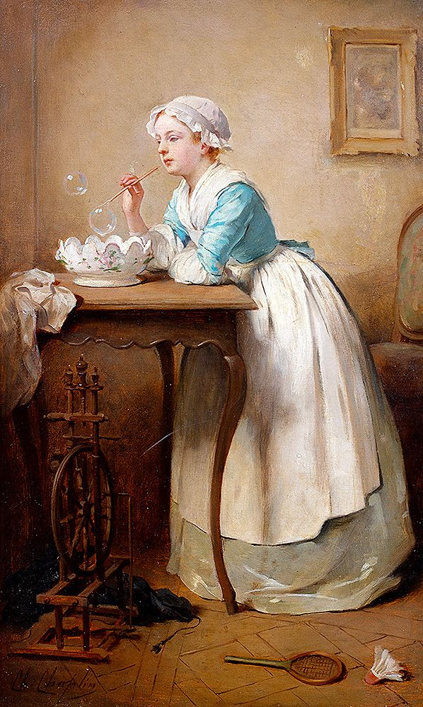 """Chaplin Charles Joshua - Bubbles  (from <a href=""""http://www.oldpainters.org/picture.php?/51937/category/16847""""></a>)"""