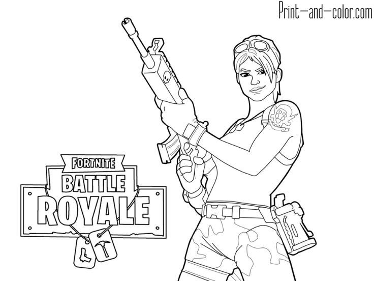 Gaming Pin Newswire Fortnite Battle Royale Coloring Page Jungle
