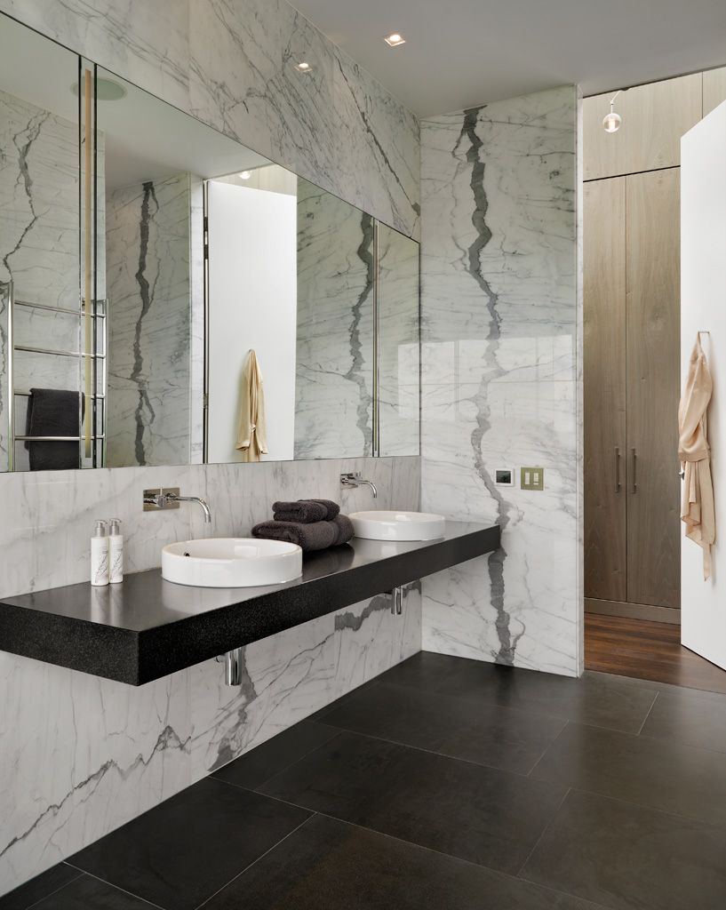 Modern house by Gregory Phillips Architects #modern bathroom ...