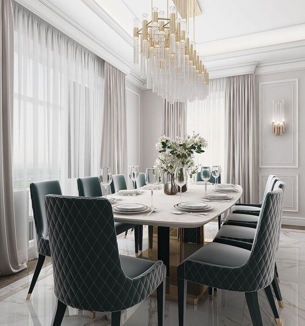 Luxxu Modern Design Living On Instagram An Elegant Dining Room Designed By Ym Design And Br In 2021 Dining Room Design Elegant Dining Room Elegant Dining Room Design An elegant dining room