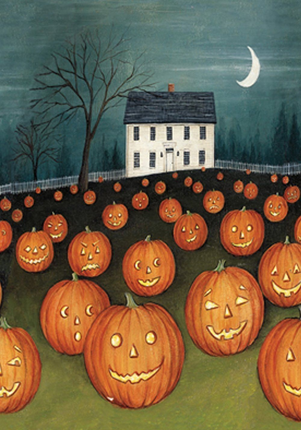amazon com toland pumpkin hollow house decorative spooky