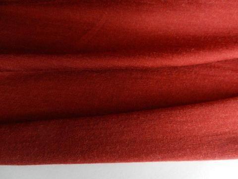 1.5m Rust 96% Merino 4% Spandex ( lycra) Jersey Knit 190g | Merino ...