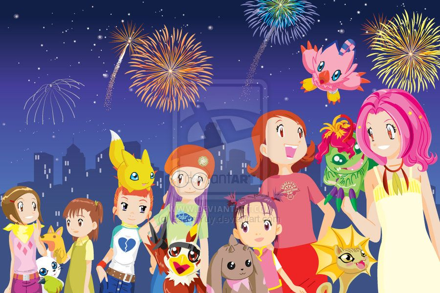 Digimon Crossover Girls By Asamiyuy On Deviantart Digimon Wallpaper Digimon Fusion Digimon