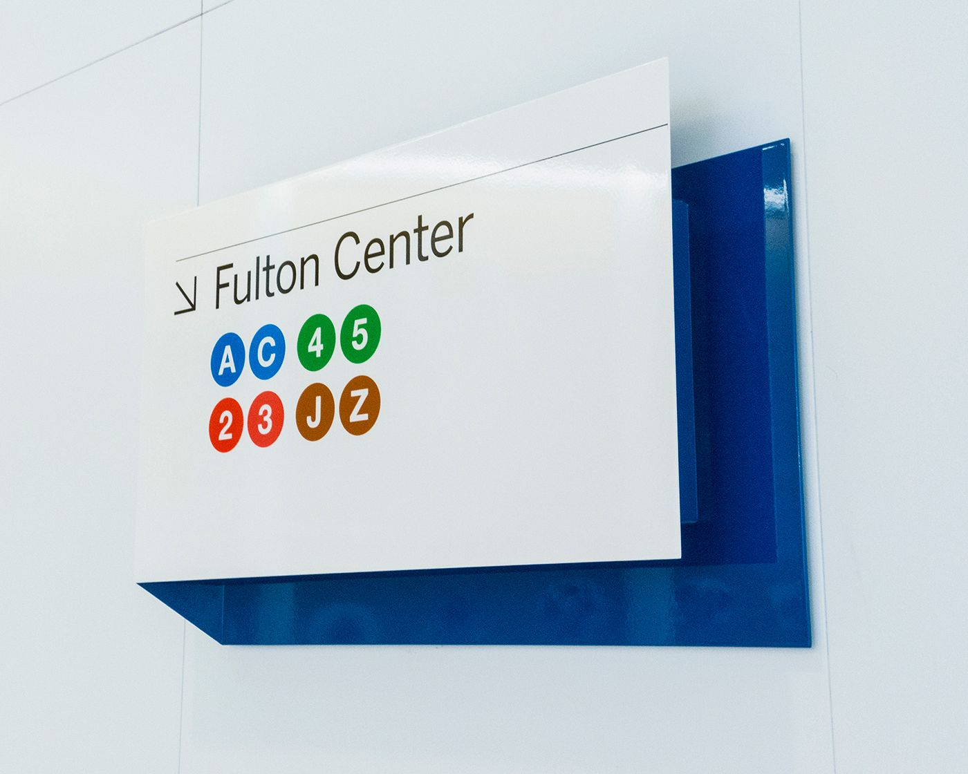 Check Out This Behance Project Wtc Signage Wayfinding System  # Muebles Kowalczuk
