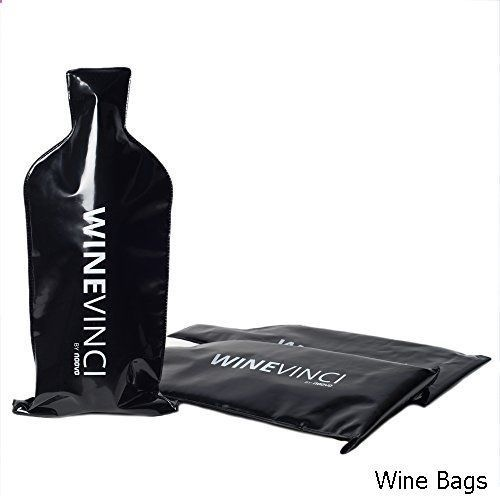 48886f73817f Wine Bag - WINEVINCI Reusable Wine Bottle Protector: Pack of 3 ...