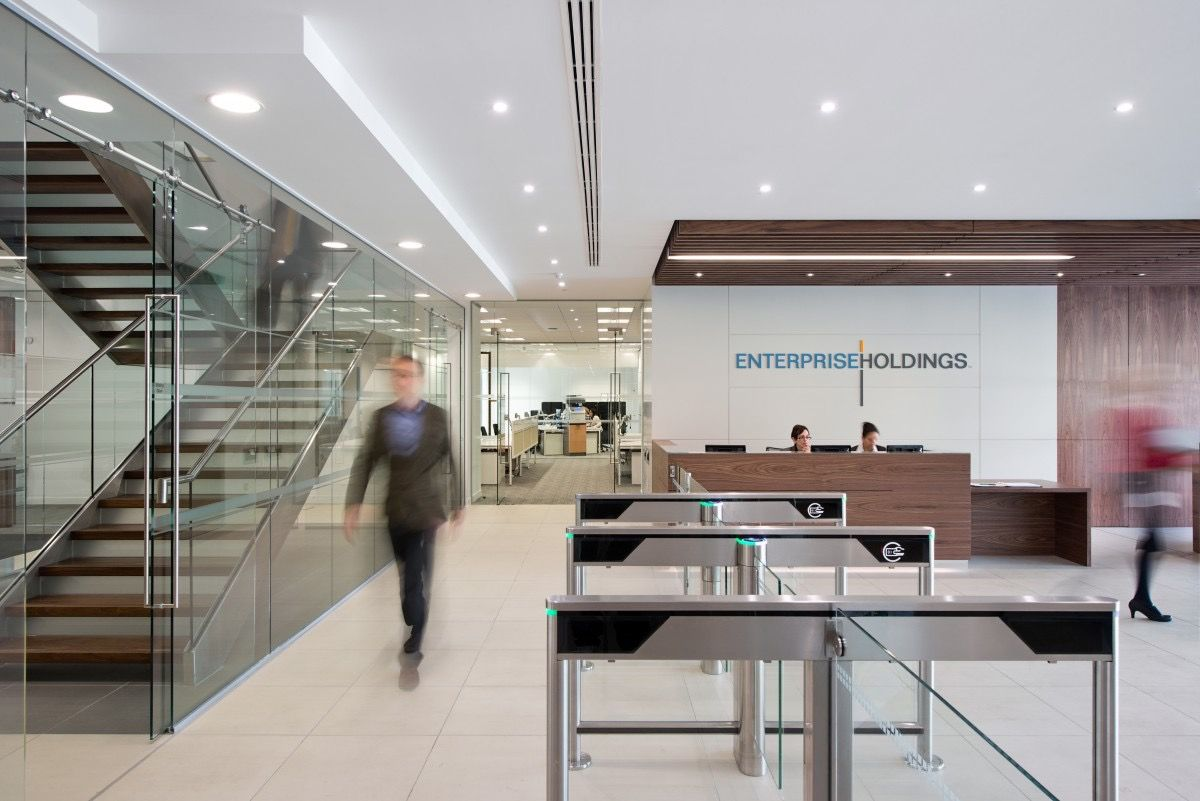 Inside Enterprise Holdings Egham Office Enterprise Rent A Car Sustainable Design Design