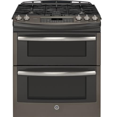 Ge Profile Series 30 Slide In Front Control Double Oven Gas