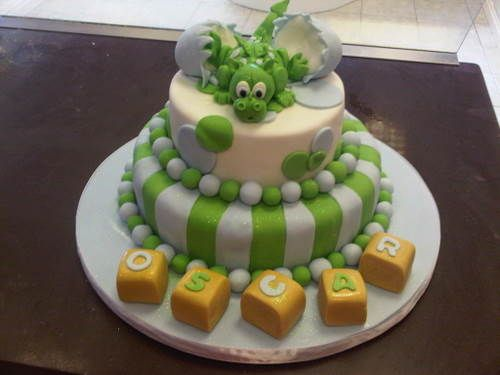 dragon hatchling cake