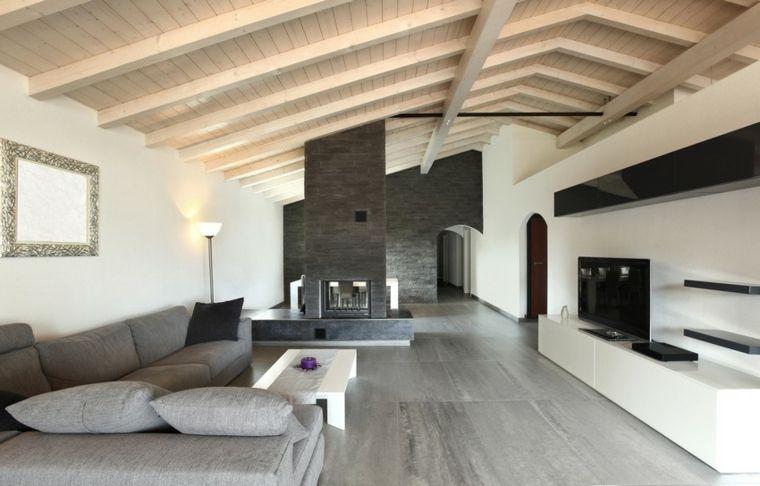 Moderna soluzione per arredare mansarda con divano for Divano con mobile incorporato
