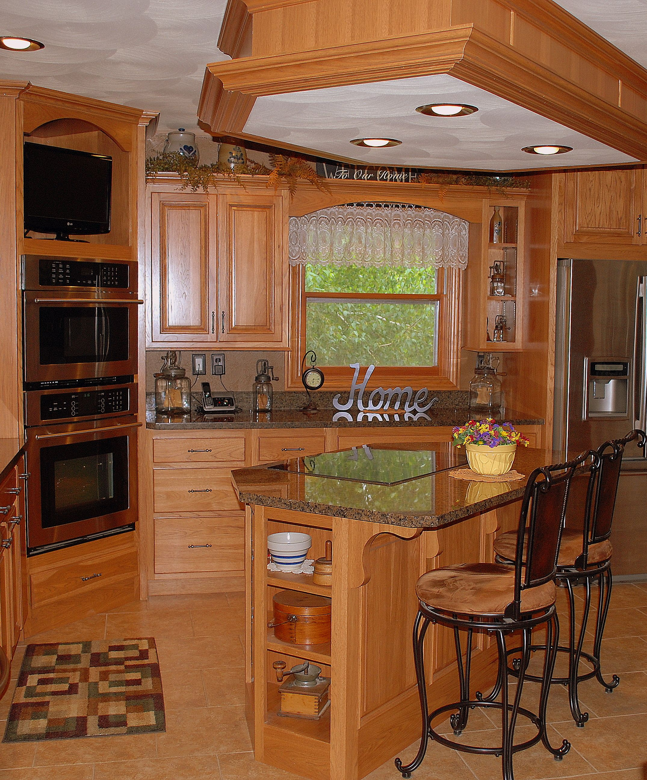 Hickory Cabinetry From Forever Cabinets By Kendrick. Www.forevercabinets.com