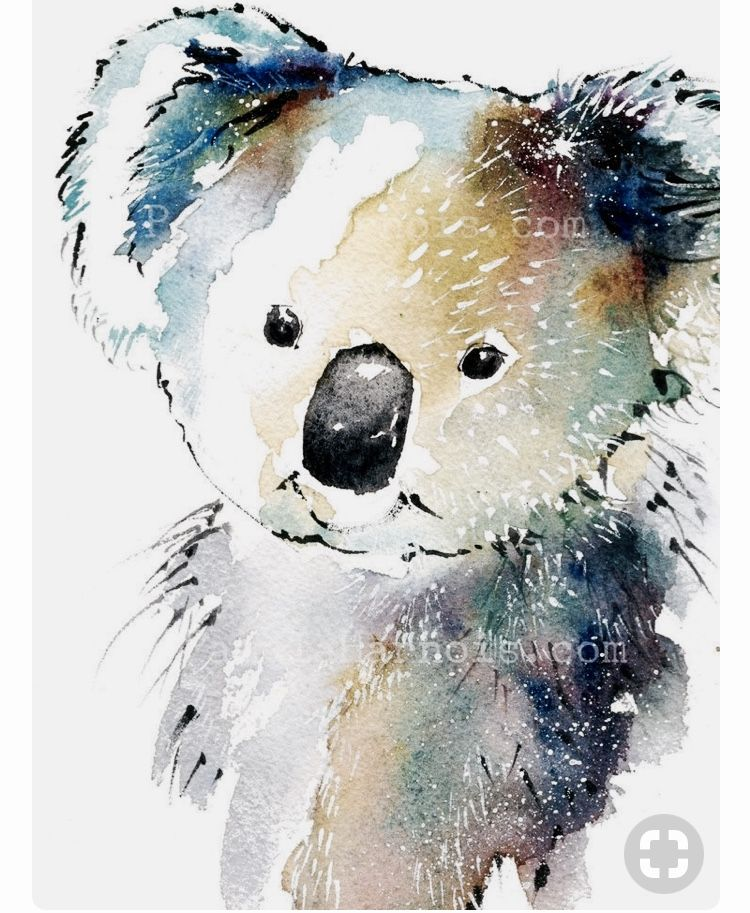 Pin By Nanou1346 On Aquarelle Animaux Bear Watercolor Bear Art