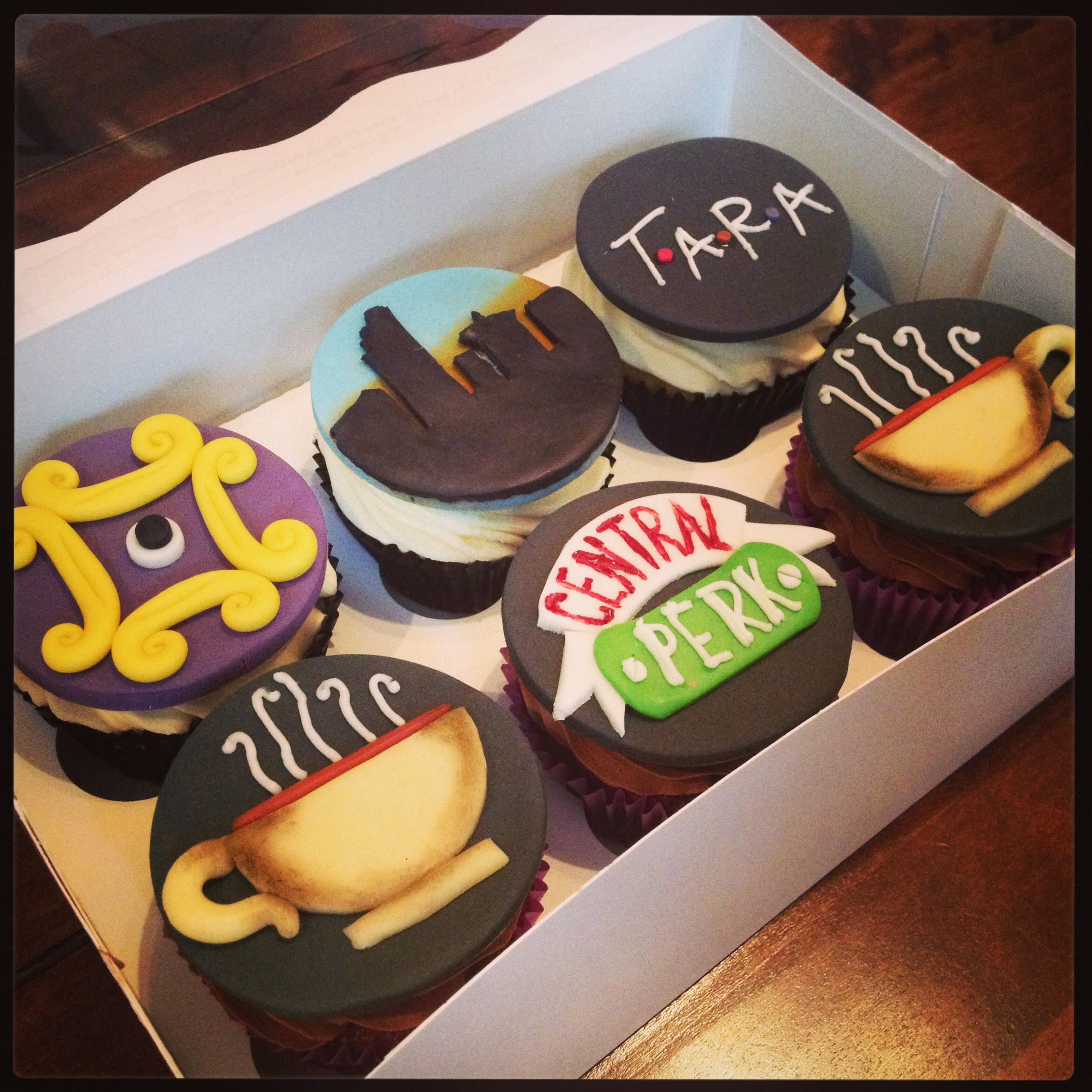 Friends Themed Cupcakes Birthday Cakes Pinterest ...