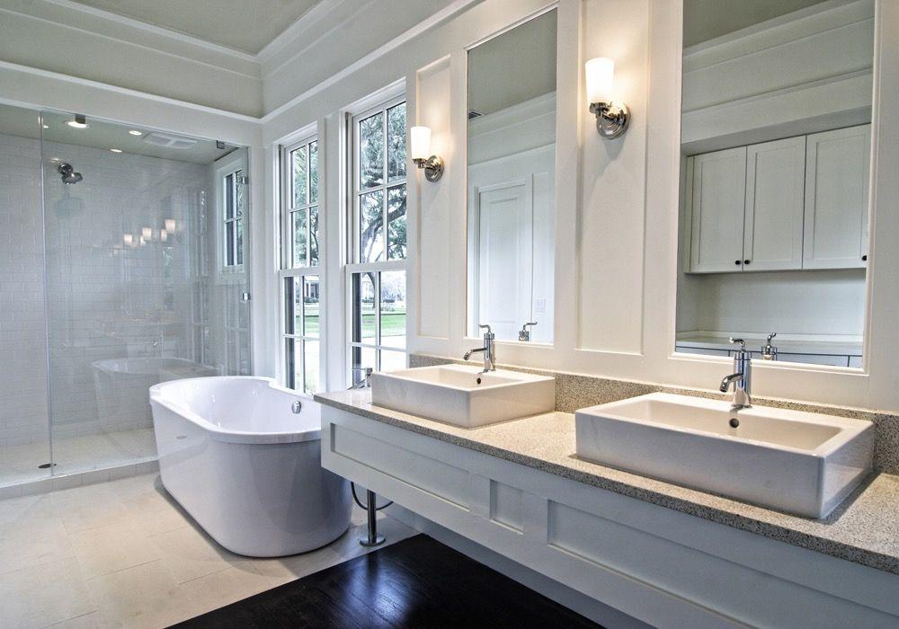 Inloopdouche Met Badkamermeubel : Landelijke badkamer met inloopdouche badkamer bathroom modern