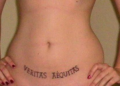 Veritas aequitas collections tattoos pinterest for Veritas aequitas tattoos