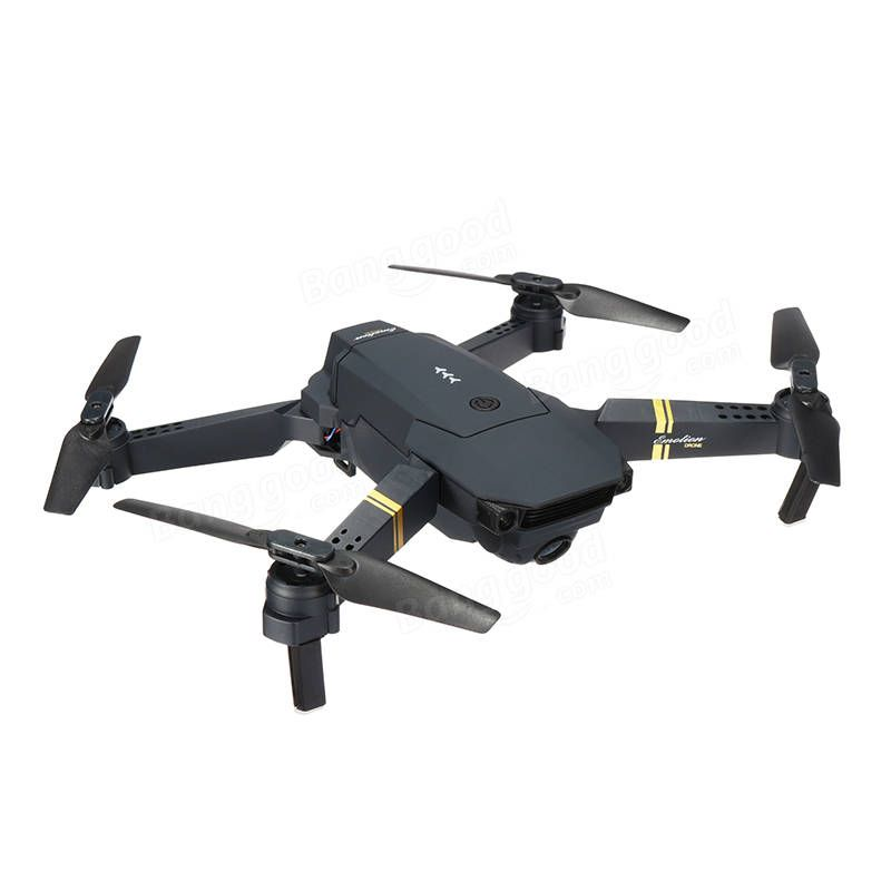 Eachine E58 Wifi Fpv With 720p 1080p Hd Wide Angle Camera High Hold Mode Foldable Rc Drone Quadcopter Rtf Rc Drones From Toys Hobbies And Robot On Banggood Com Quadcopter Drone Drone Quadcopter