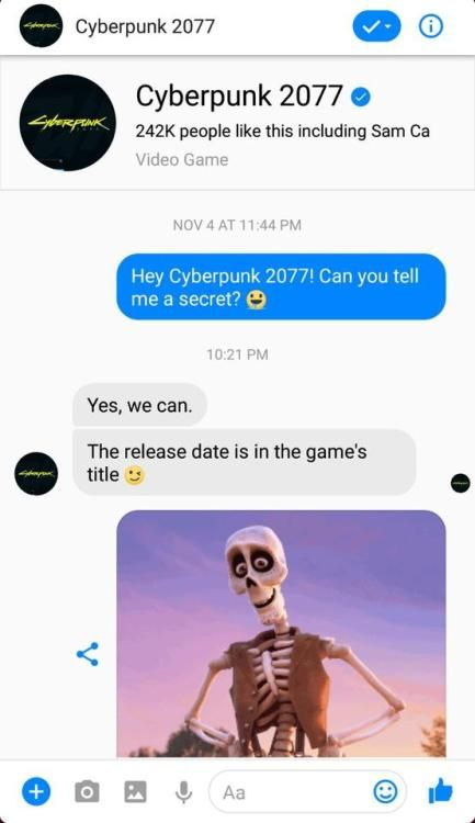 Lets Hope They Meant 2020 Cyberpunk Funny Memes Bad Memes