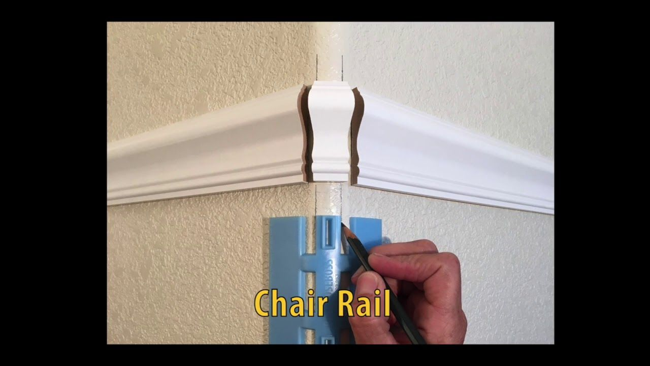 How To Measure Trim On Bullnose Or Rounded Corners Round Corner Chair Rail Corner Chair